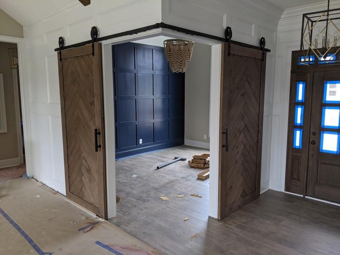Corner Barn Doors