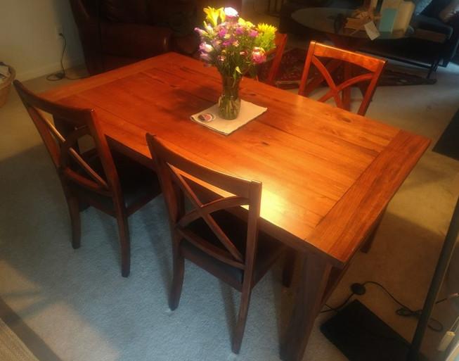 Trestle Farm Table