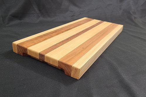 Wide edge grain cutting board