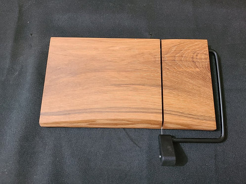Hickory Cheese Slicer with Live Edge