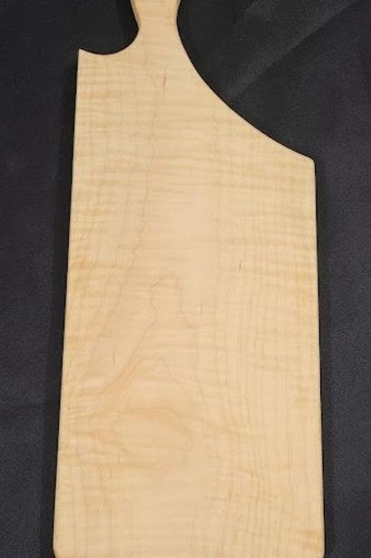 Curly Maple Charcuterie Board (Medium)
