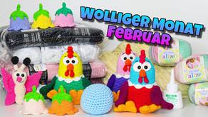 Kümas wolliger Monat🧶 - Februar| Ostern🐔|Einkäufe🛍️| und mehr #KümaswolligerMonat