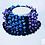 Thumbnail: Color Blocking Popcornschal - Häkelanleitung