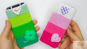 Handyhülle / Tasche - Häkeln | für jedes Handy | Kostenlos