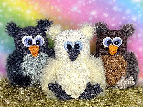 Flauschige Hedwig Babys - Häkelanleitung DE|NL|ENG