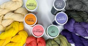 Wolle selber Färben mit Naturprodukten