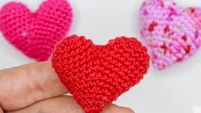 3D Herz  - Häkeln | für Anhänger | Kostenlos