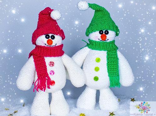 Echte Schnee Männer - Häkelanleitung