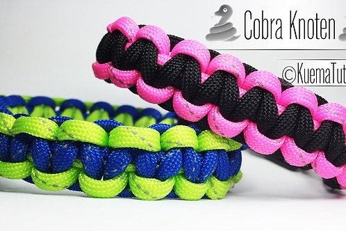Paracord Armband - Kobra Knoten Anleitung
