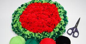 Schnell und Einfach - Melonen PomPom Teppich | #PickPom