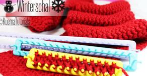 Strickring/KnittingLoom -  einfacher kuscheliger Winterschal stricken Kostenlos
