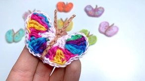 Einfach schöne Schmetterlinge - Häkeln | Deko | Applikation
