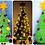 Thumbnail: Weihnachtsbaum 50 cm groß - Häkelanleitung DE ENG