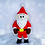 Thumbnail: Weihnachtsklaus der großer flauschige Weihnachtsmann - Häkelanleitung| DE|ENG