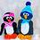 Thumbnail: Die süße Pinguinfamilie - Häkelanleitung  DE|NL