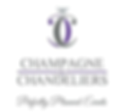 Champagne and Chandeliers Logo