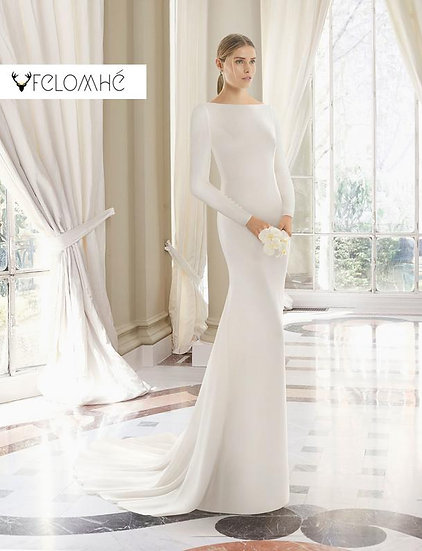 Minimalist collection Gown no 1