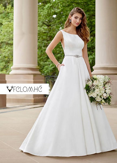 Minimalist collection Gown no 7