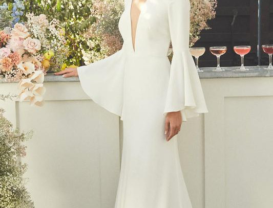 Minimalist collection Gown no 2