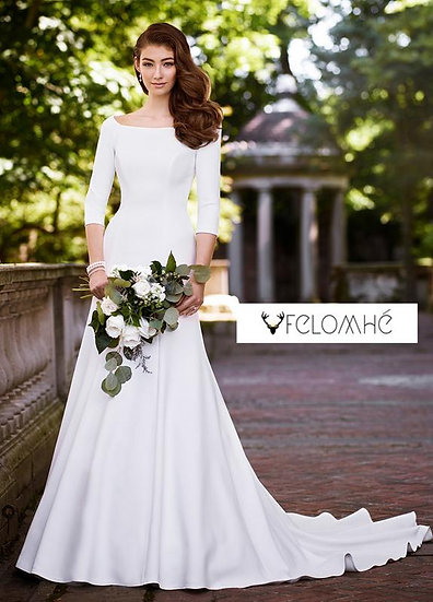 Minimalist collection Gown no 11