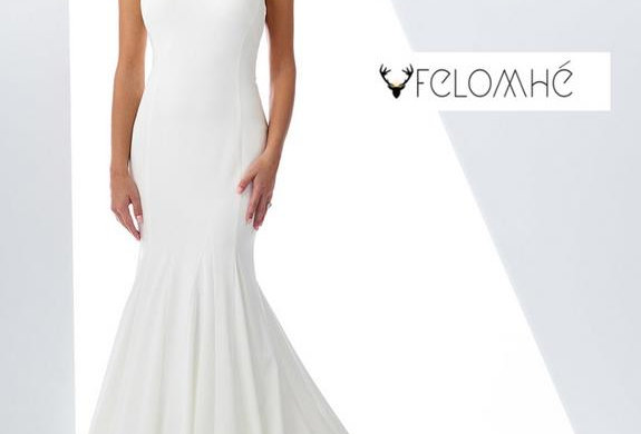 Minimalist collection Gown no 8