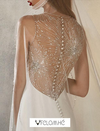 Bejewelled collection Gown no 1