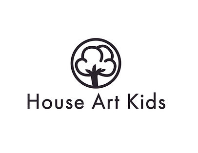 house art kids organic logo black large.