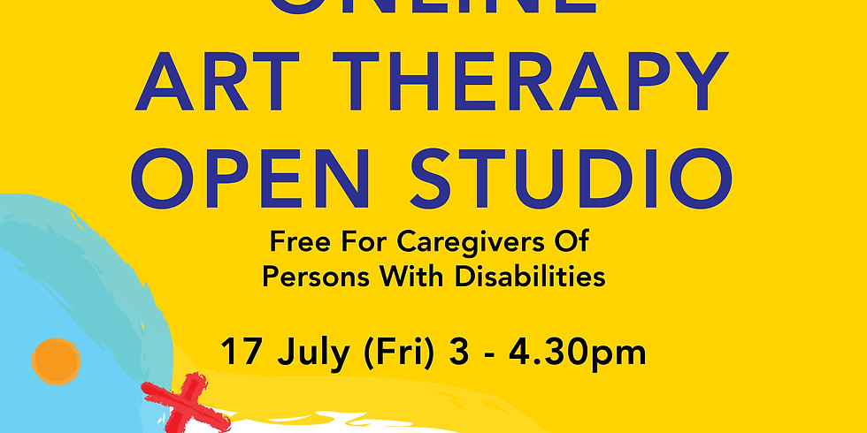 Online Art Therapy Open Studio 17 July