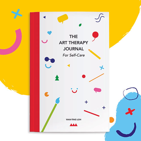 The Art Therapy Journal: For Self-Care (Pre-Order)