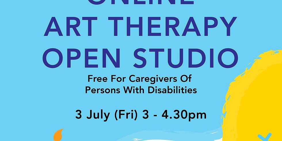 Online Art Therapy Open Studio 3 July