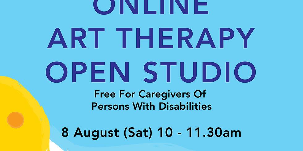 Online Art Therapy Open Studio 8 August