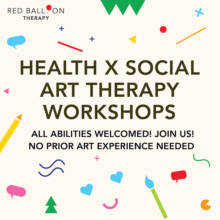 Health x Social Art Therapy Workshops