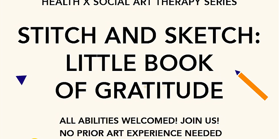 Stitch And Sketch: Little Book of Gratitude