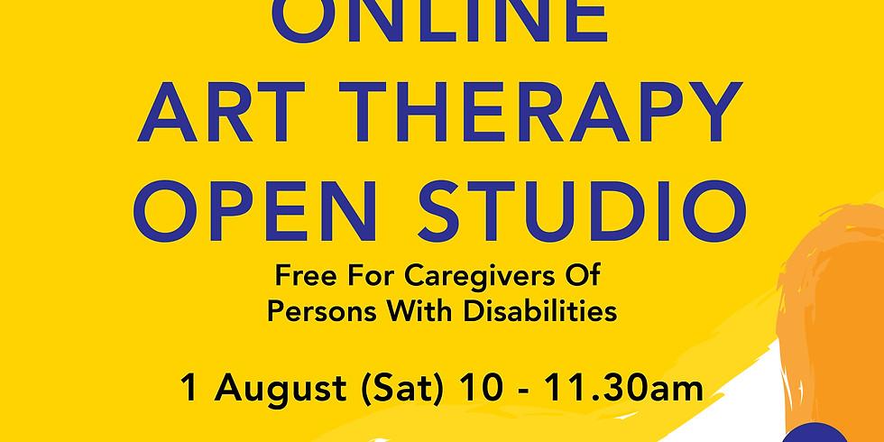Online Art Therapy Open Studio 1 August
