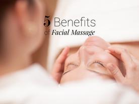 Five benefits of facial massage