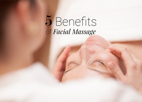 Five benefits of facial massage