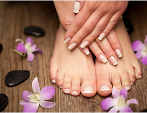 Our hand and feet care services include manicures, pedicures, trimming and filing of fingernails and toenails and are performed following strict hygiene standards. Au Naturalé Salon and Mobile spa and beauty salon is located in Woodbine, Campbelltown, NSW, Our professional mobile beautician travels to Campbelltown, Camden and Macarthur regions and provides beauty treatments at your home, aged care homes, retirement villages, hospitals, lifestyle disability centres, group homes for the disabled.