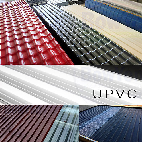 งานติดตั้งหลังคา UPVC และ SPVC