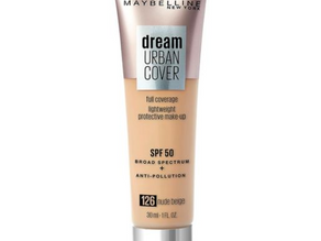 TBN: Drugstores Dupes Edition- Maybelline Dream Urban Cover Foundation Review