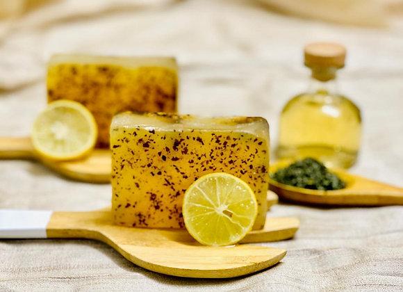 Lemon Green Tea Soap