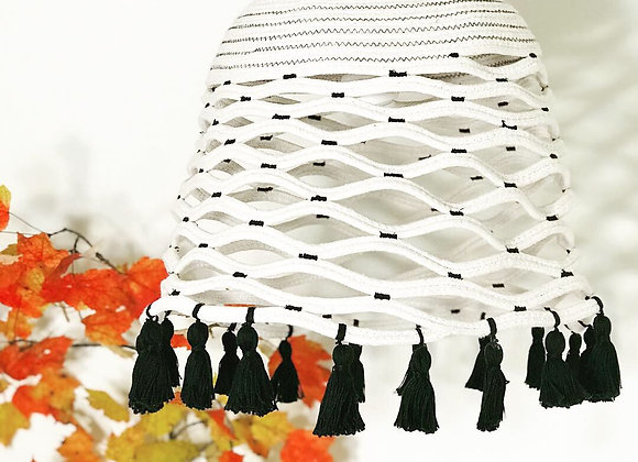 Chatra Lampshade with ornamental tassels