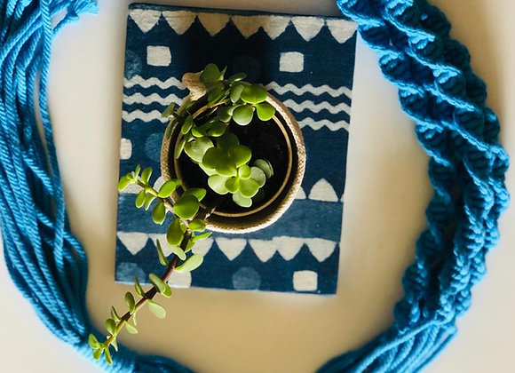 Plant hanger - Blue