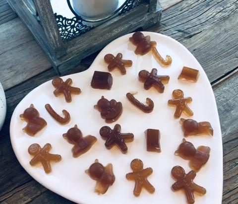 "Rooibos, apple and honey sugar free gummy""s"