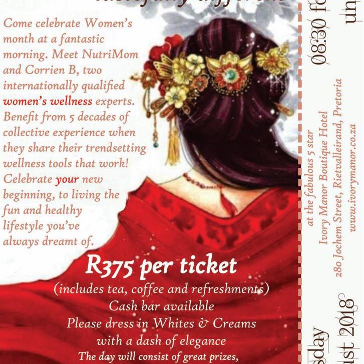 Women's Month Event- New Beginnings