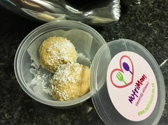Fun Easy Coconut Peanut-Butter Balls