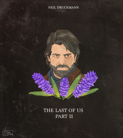 The Las of Us Part II Game Poster