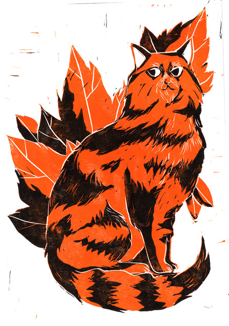 Seasonal Cats Autumn