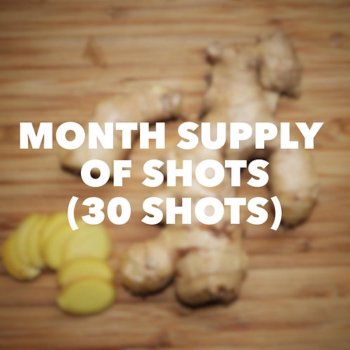 SHOTS- MONTH SUPPLY
