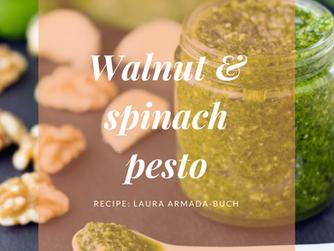 Walnut & Spinach Pesto