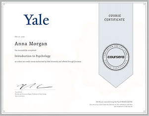 Introduction to Psychology Yale